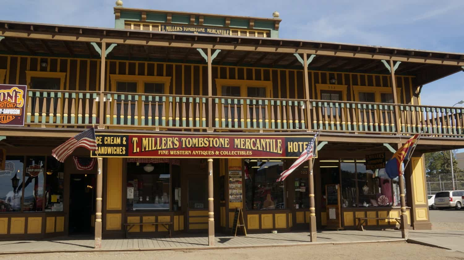 T. Miller's Tombston Mercantile - A Pet Friendly Attraction in Tombstone, AZ