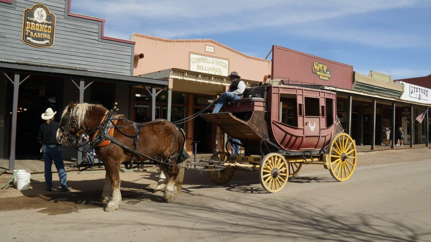 Stage Coach Tours - A Pet Friendly Attraction in Tombstone, AZ