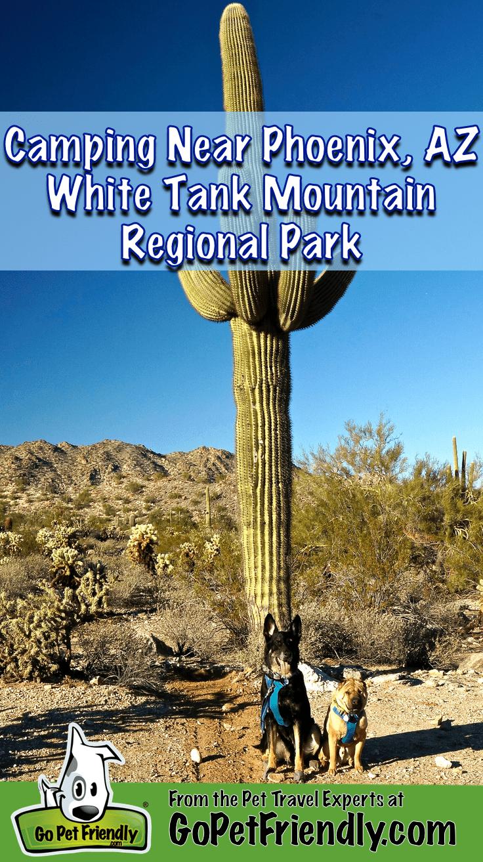 Camping Near Phoenix, Arizona - White Tank Mountain Regional Park
