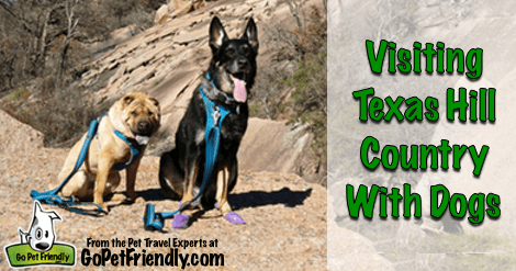 Visiting Texas Hill Country With Dogs - FB