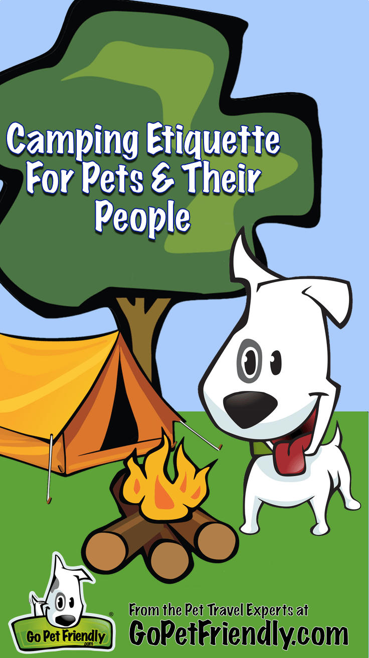 Camping Etiquette for Pets & Their People