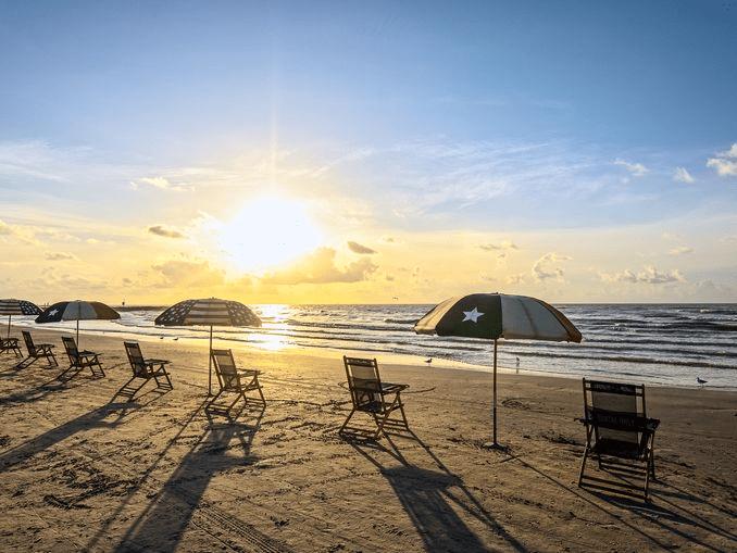 Galveston Beach - Galveston, TX