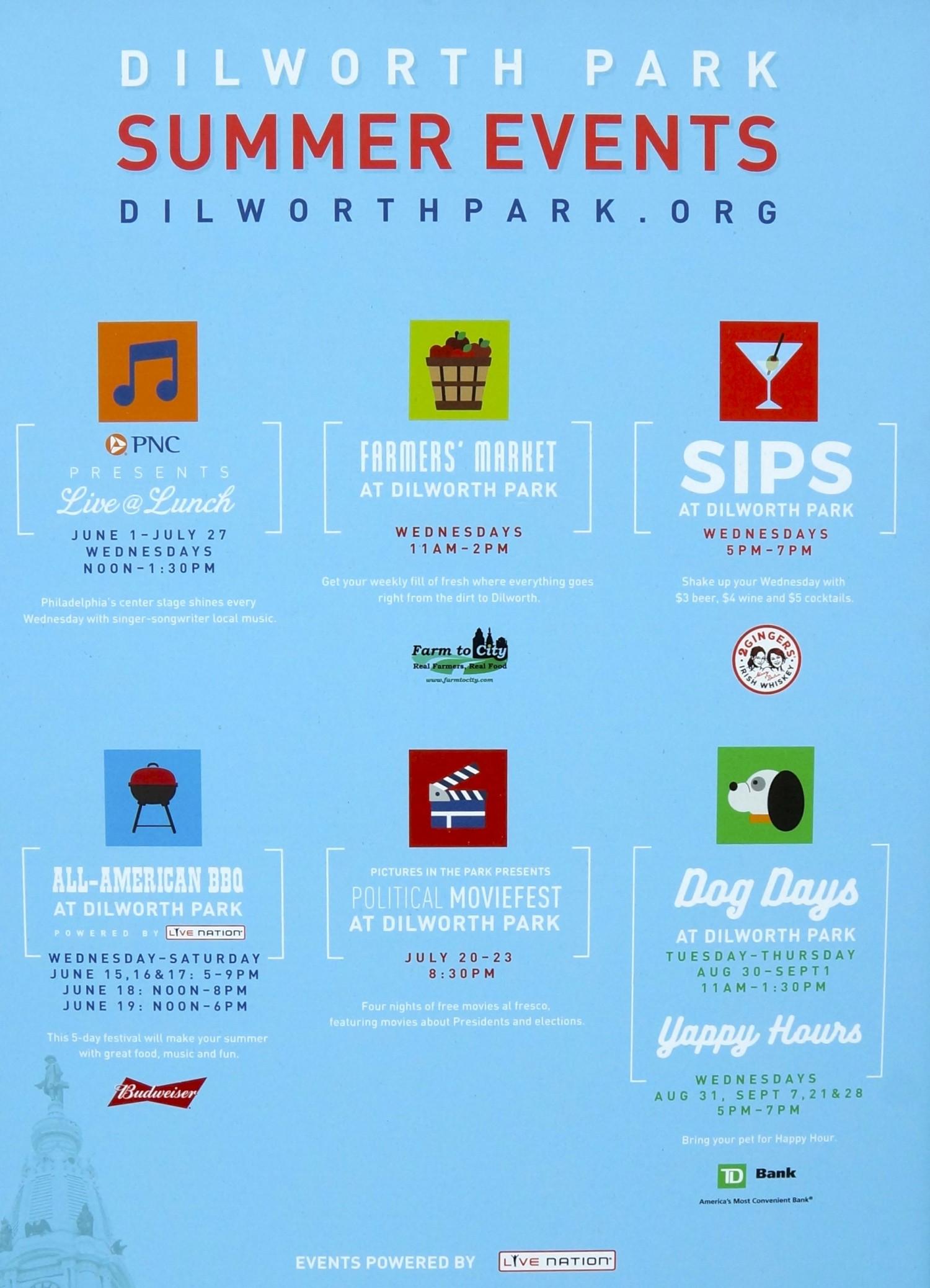 City Hall and Dilworth Park - Philadelphia, PA