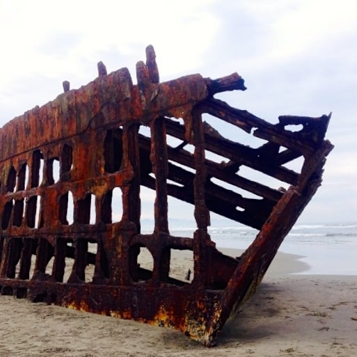 Peter Iredale 1906 Shipwreck - Cannon Beach, OR