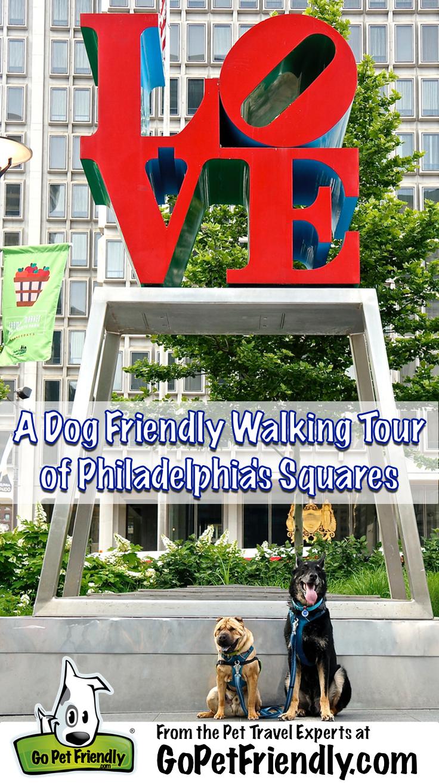 A Dog Friendly Walking Tour of Philadelphia's Squares