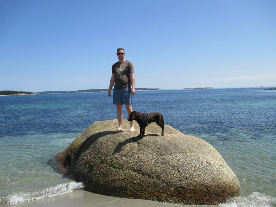 Dog Friendly Hiking at Crystal Crescent Beach Provincial Park - Halifax, NS