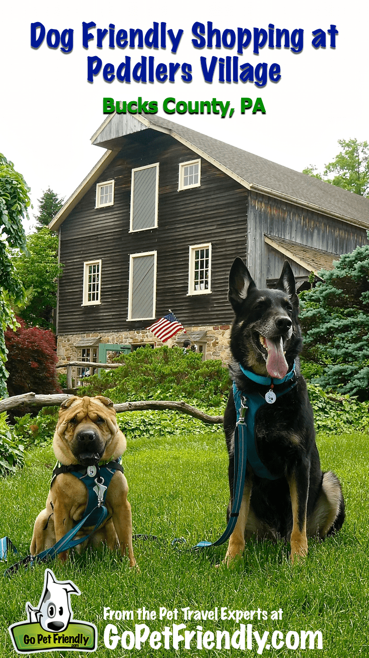 Dog Friendly Shopping at Peddlers Village - Bucks County, PA | GoPetFriendly.com