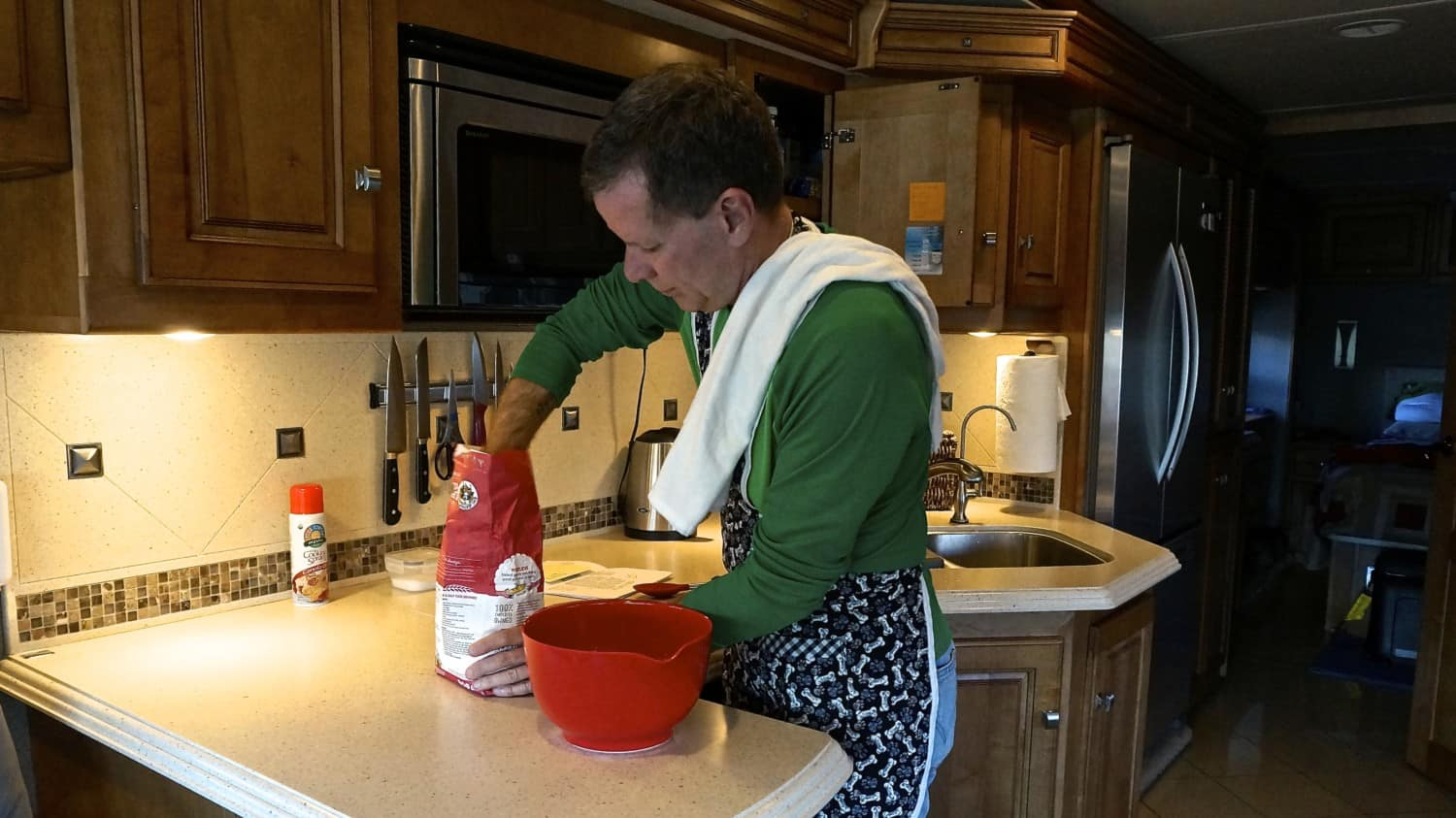 Making Pizza from Scratch in an RV Kitchen | GoPetFriendly.com