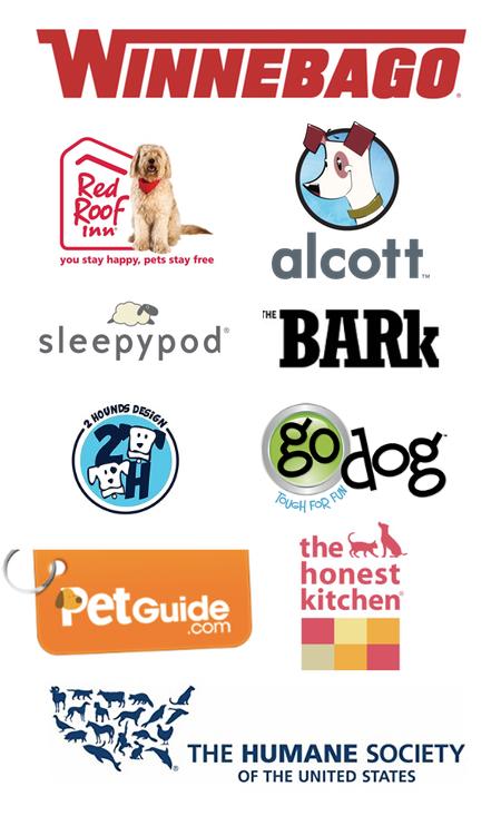 The Ultimate Pet Friendly Road Trip - Sponsor Logos