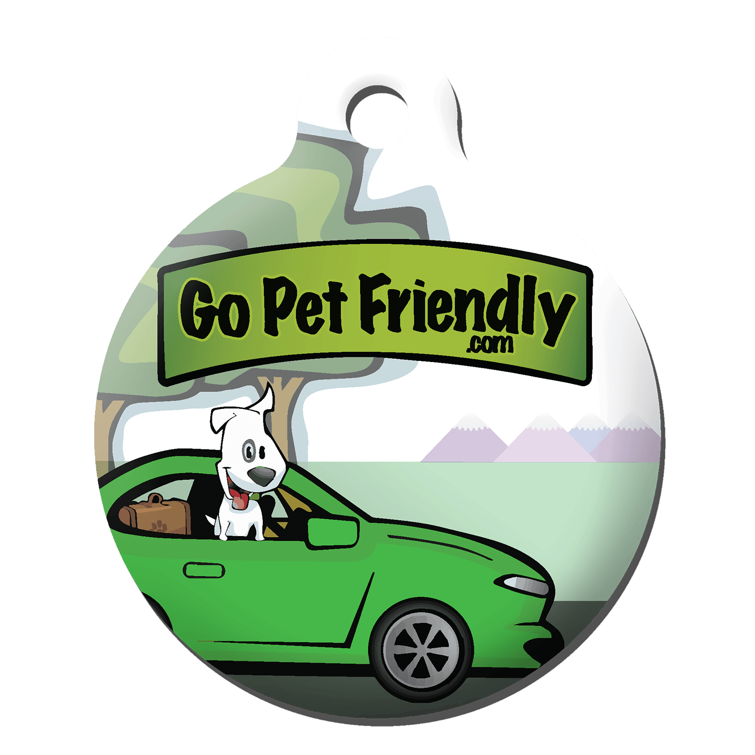 PetHub Tag Design for GoPetFriendly.com