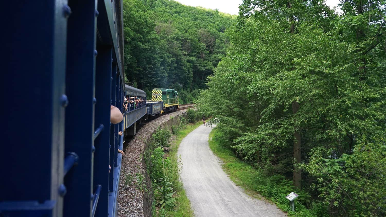 Pennsylvania's Top Pet Friendly Attraction: Lehigh Gorge Scenic Railway   GoPetFriendly.com