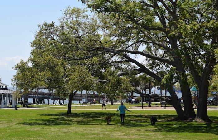 Neptune Park on St. Simons Island.