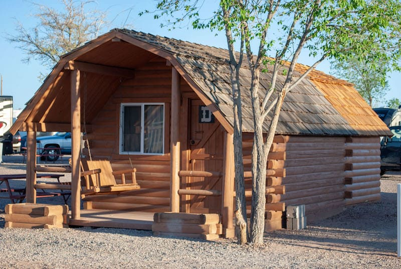 Campground Cabin