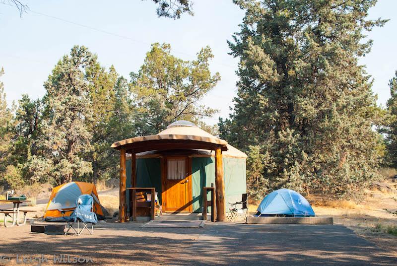 Yurt Camping in Oregon