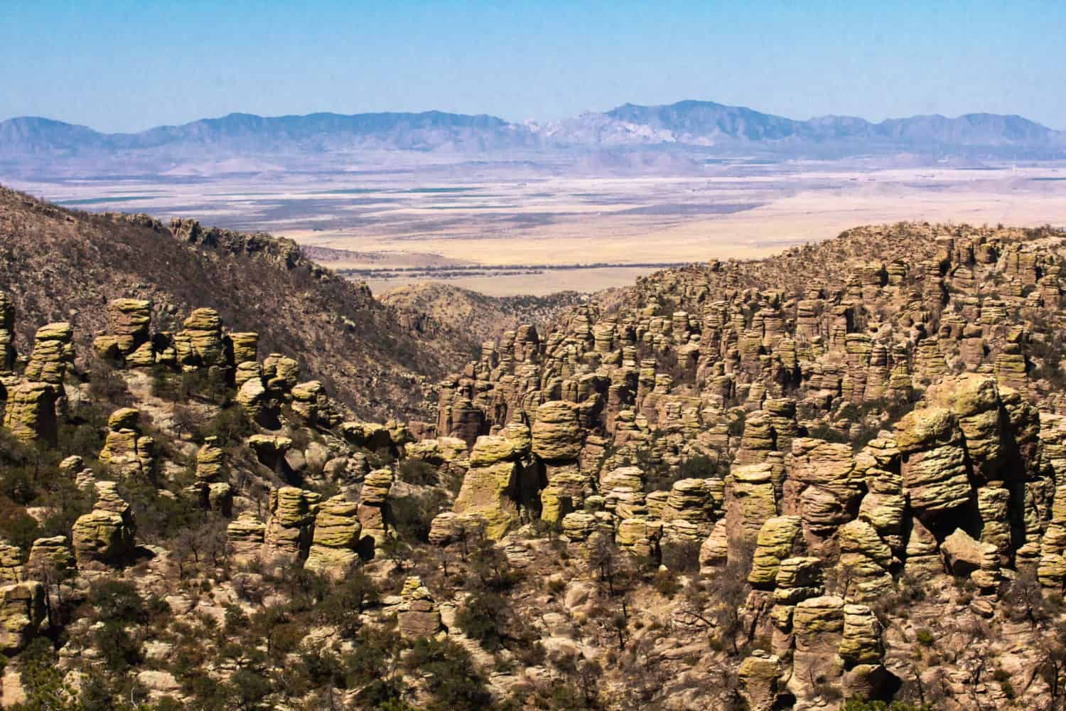 Rock formations in Chiricahua National Monument, Arizona