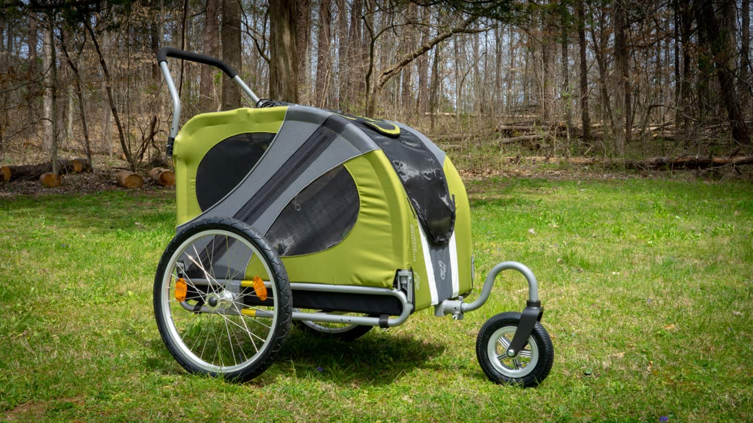 Green DoggyRide Novel Dog Jogger-Stroller
