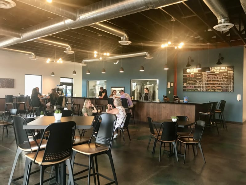 Pet friendly tap room at Cohort Craft Brewery in Rapid City, SD
