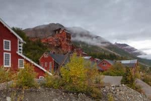 Kennicott Ghost Town in McCarthy, AK