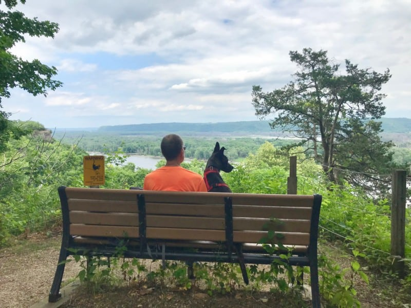 Pet Friendly Effigy Mounds National Monument in Iowa
