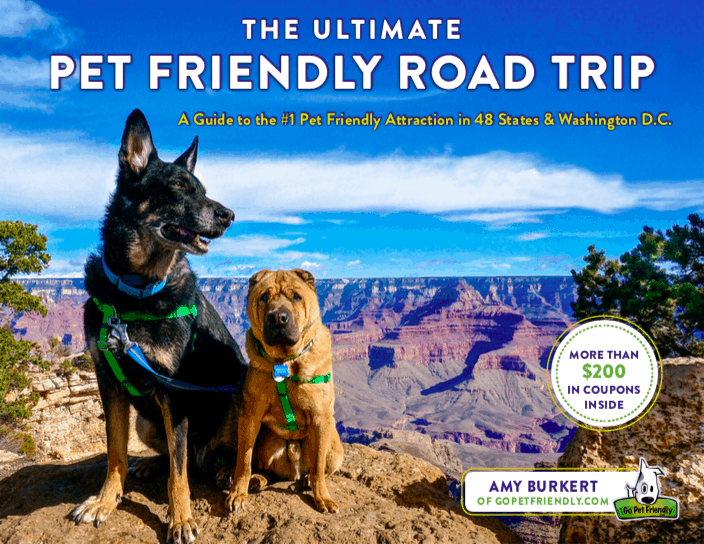Book Cover - The Ultimate Pet Friendly Road Trip by Amy Burkert