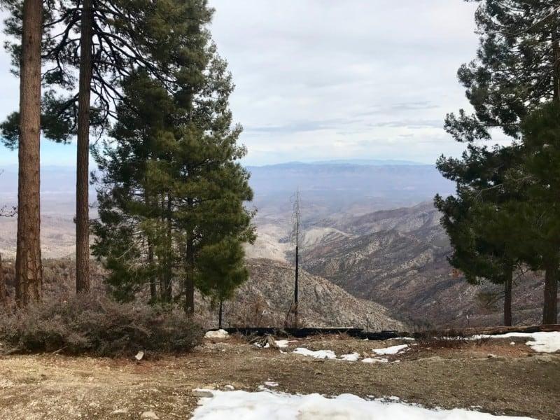 View from Mount Lemmon - Tucson, AZ