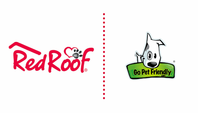 Red Roof and GoPetFriendly Logos